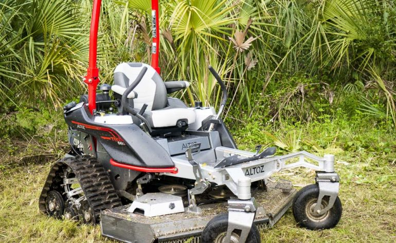 Altoz TRX 660i Zero Turn Mower Review - Tank Turret Not