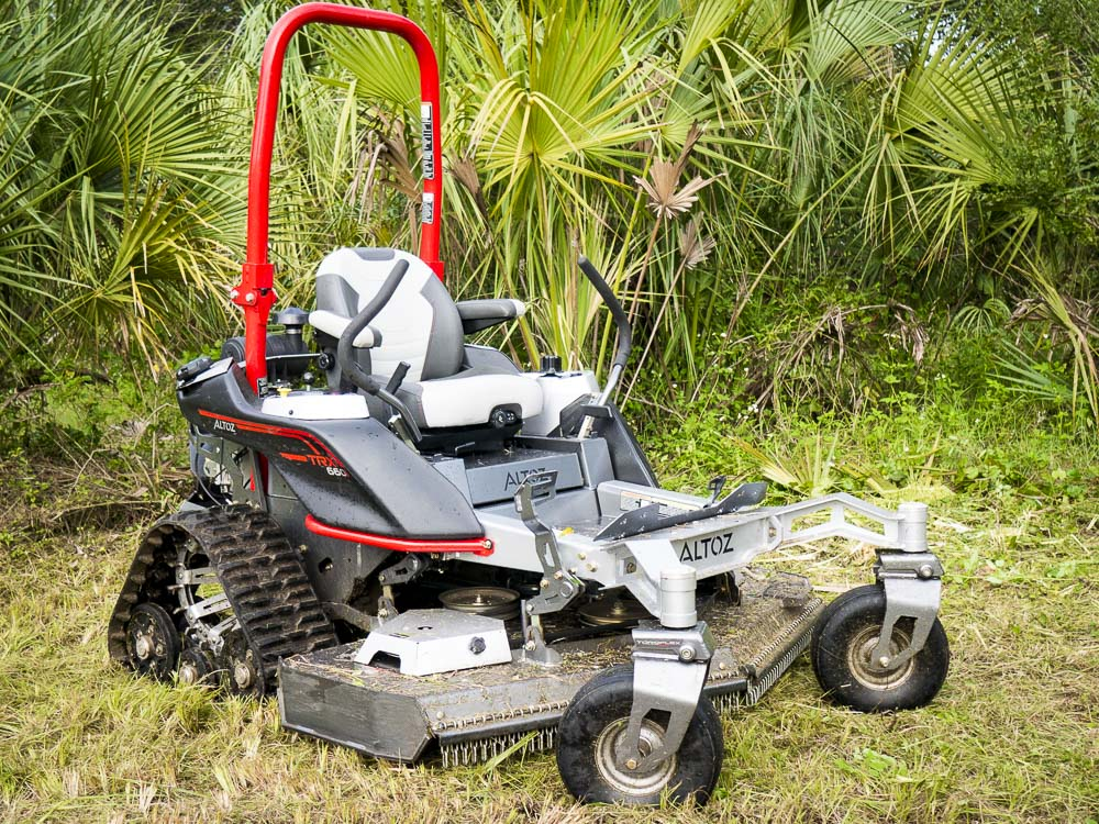 Altoz Trx 660i Zero Turn Mower Review Tank Turret Not