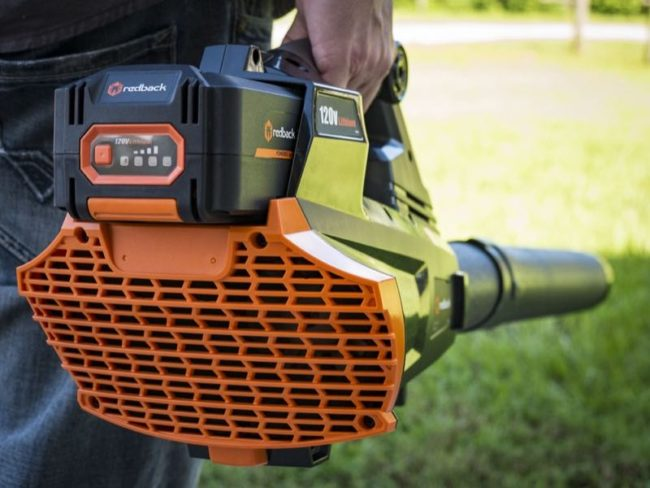 Redback Cordless Leaf Blower battery