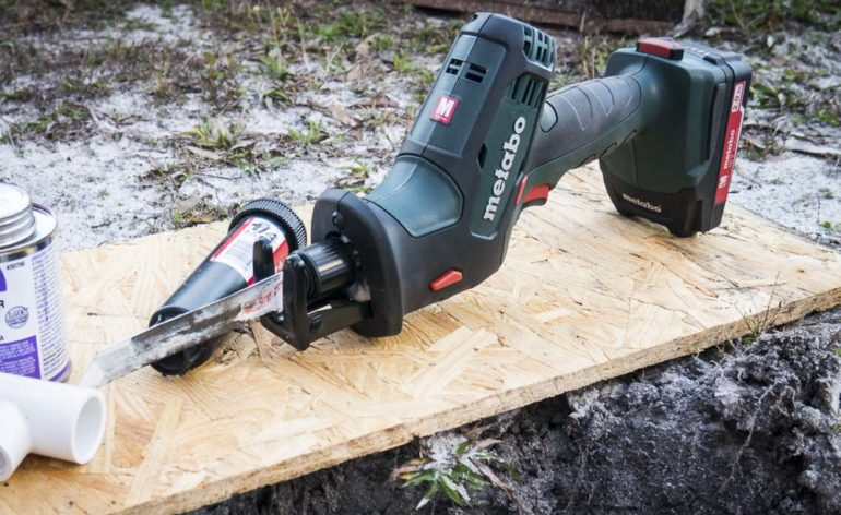 Metabo Compact Cordless Reciprocating Saw