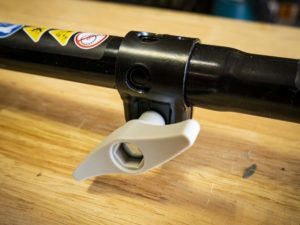 Ryobi RY253SS Two-piece Shaft