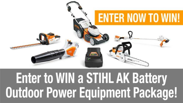OPE tool giveaways STIHL OPE package