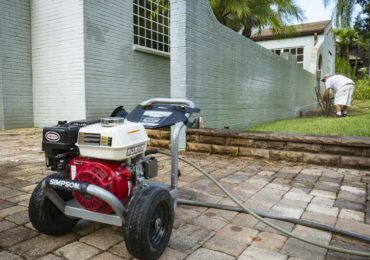Simpson PowerShot 3700 PSI pressure washer