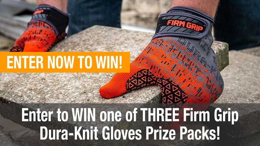 OPE tool giveaways firm grip dura-knit gloves
